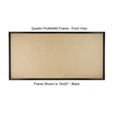 8x24 Picture Frames - Profile375 - GLASS-Box of  24 / PLASTIC-Box of 36