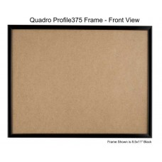 8.5x11 Picture Frames - Profile375 - GLASS-Box of  48 / PLASTIC-Box of 60